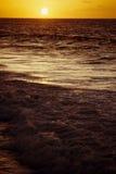 восход солнца тропический Стоковая Фотография