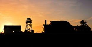 Восход солнца убежища Стоковая Фотография RF