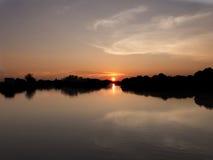 Восход солнца утра красивый Стоковые Фото