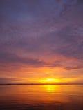 Восход солнца Флориды Стоковые Изображения