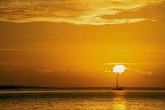 Восход солнца Чарлстона Стоковые Изображения RF