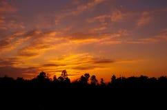 Восход солнца 18 Стоковые Изображения RF