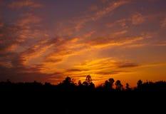 Восход солнца 20 Стоковая Фотография