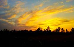 Восход солнца 21 Стоковая Фотография