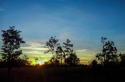 Восход солнца 8 Стоковое Изображение RF