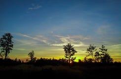восход солнца 3 Стоковые Изображения RF