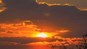 Восход солнца видеоматериал