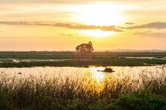 Восход солнца Стоковая Фотография