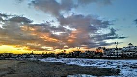 Восход солнца 2017 Стоковые Фотографии RF