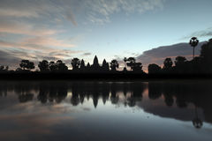 Восход солнца Angkor Wat Стоковая Фотография RF