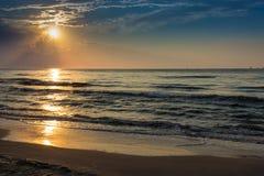 Восход солнца Aransas Техаса порта Стоковая Фотография