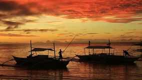 Восход солнца Bohol акции видеоматериалы