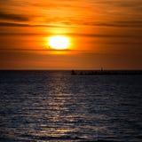 Восход солнца Cloudscape Стоковая Фотография