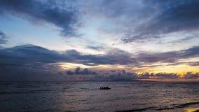 Восход солнца 09 Dumaguete сток-видео
