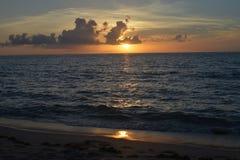 Восход солнца Ft океана lauderdale Стоковые Изображения