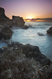 Восход солнца Guantanamo Bay Стоковая Фотография RF