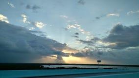 Восход солнца Islamorada Стоковое Изображение RF