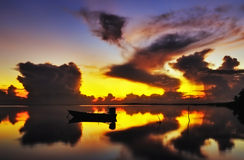 Восход солнца Jubakar Tumpat Стоковые Изображения