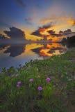 Восход солнца Jubakar Tumpat Стоковое фото RF