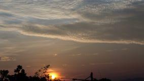 Восход солнца 4K видеоматериал