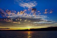 восход солнца keuka Стоковое Фото