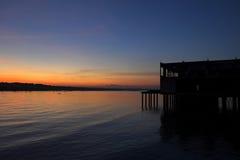 Восход солнца 7 Kukup Стоковые Изображения RF