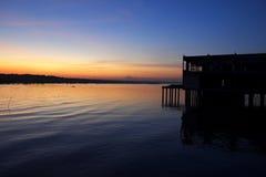 Восход солнца 5 Kukup Стоковые Изображения