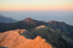 Восход солнца Messinian Стоковая Фотография RF