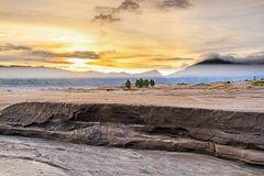 Восход солнца MT Bromo Стоковая Фотография RF