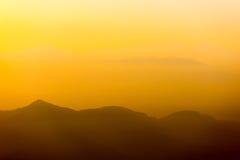 Восход солнца Nargakot Стоковое Изображение RF