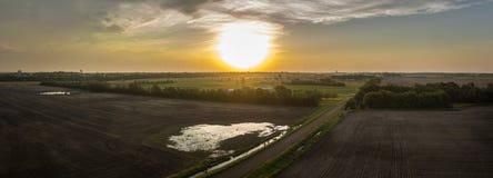 Восход солнца Novermber Стоковое Изображение RF
