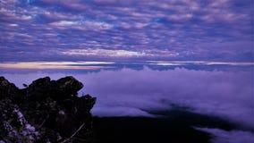 Восход солнца Pilchuck Стоковая Фотография RF