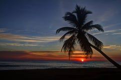 Восход солнца Punta Cana - 02 Стоковые Изображения RF