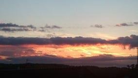 Восход солнца 1 Serie Стоковая Фотография RF