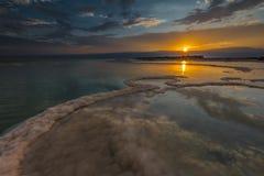 Восход солнца Sodom Gomorrah Стоковое Фото