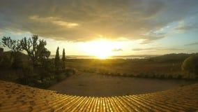 Восход солнца Timelaps Стоковые Фото