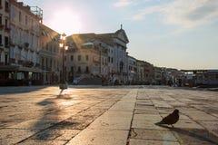 восход солнца venice Стоковые Изображения