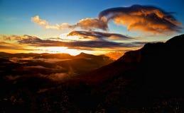 Восход солнца Whiteside Стоковые Фотографии RF