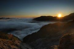 Восход солнца Wuling стоковое изображение