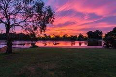 Восход солнца Wynyard Тасмания стоковое изображение