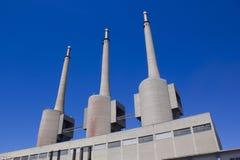 восходящий поток теплого воздуха силы завода центрального отопления Стоковое Изображение