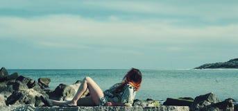 Восшхищать океан Стоковое Изображение