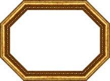 восьмиугольник рамки деревянный Стоковое Фото