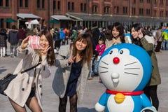 восьмидесятая годовщина Doraemon Стоковая Фотография RF