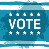 вотум Плакат дня выборов США 2016 Стоковая Фотография