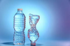 вода бутылок 2 Стоковая Фотография