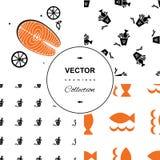 вода вектора иллюстрации рыб предпосылки голубая Бесплатная Иллюстрация