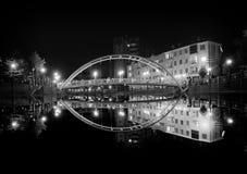 вода вектора отражения города Стоковое Изображение RF