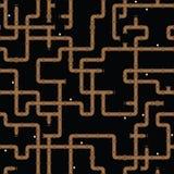 вода вектора текстуры трубы безшовная Стоковая Фотография RF