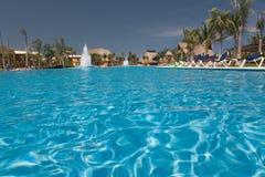 вода взгляда бассеина Мексики Стоковые Фото